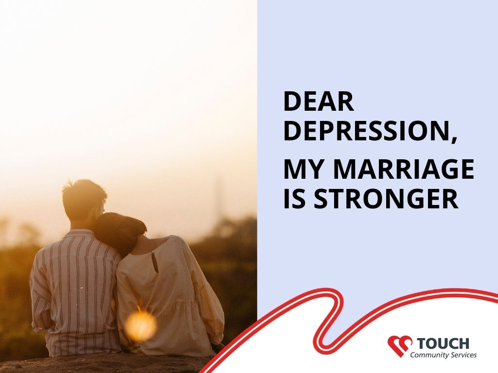 Dear Depression, My Marriage is Stronger