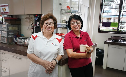 A pillar of support to vulnerable seniors