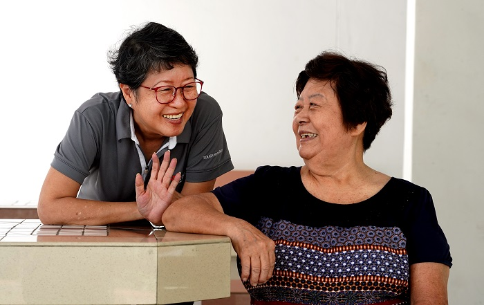 Overcoming frailty with community support