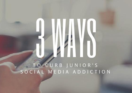 3 Ways to Curb Junior's Social Media Addiction