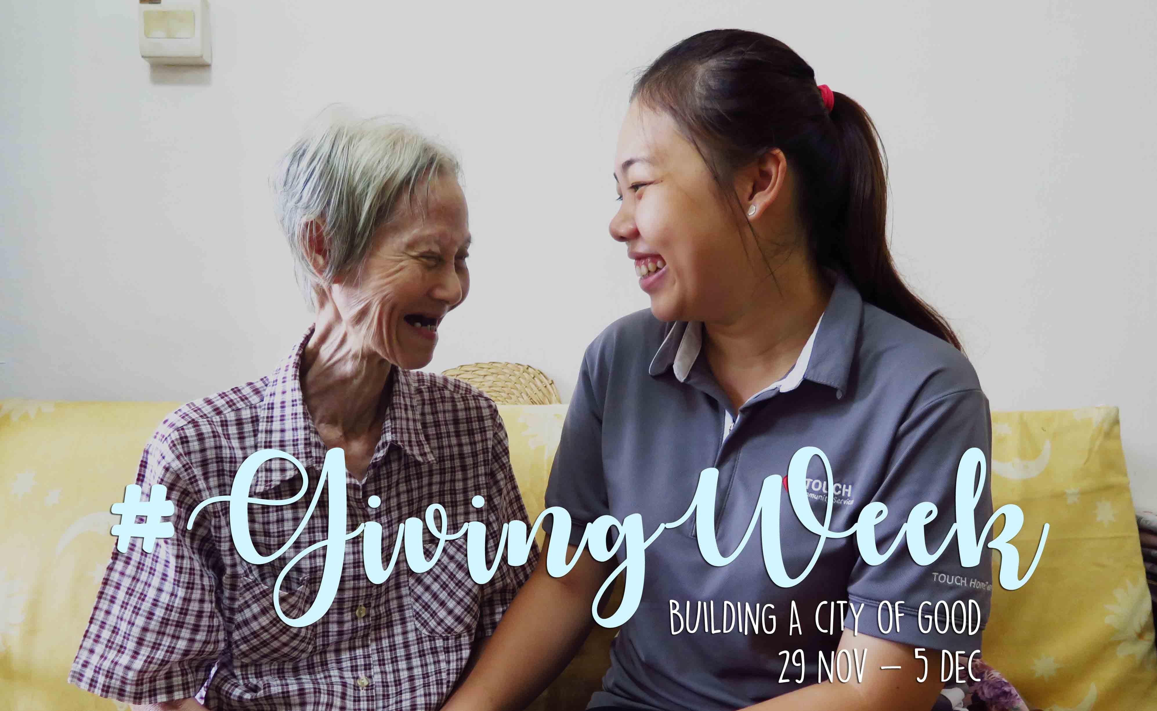 #GivingWeek: Make this a meaningful week!